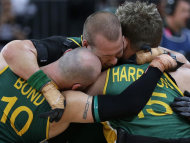 Australia's wheelchair rugby team have won their maiden Paralympic gold medal at the London games