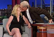Amy Poehler, David Letterman | Photo Credits: CBS