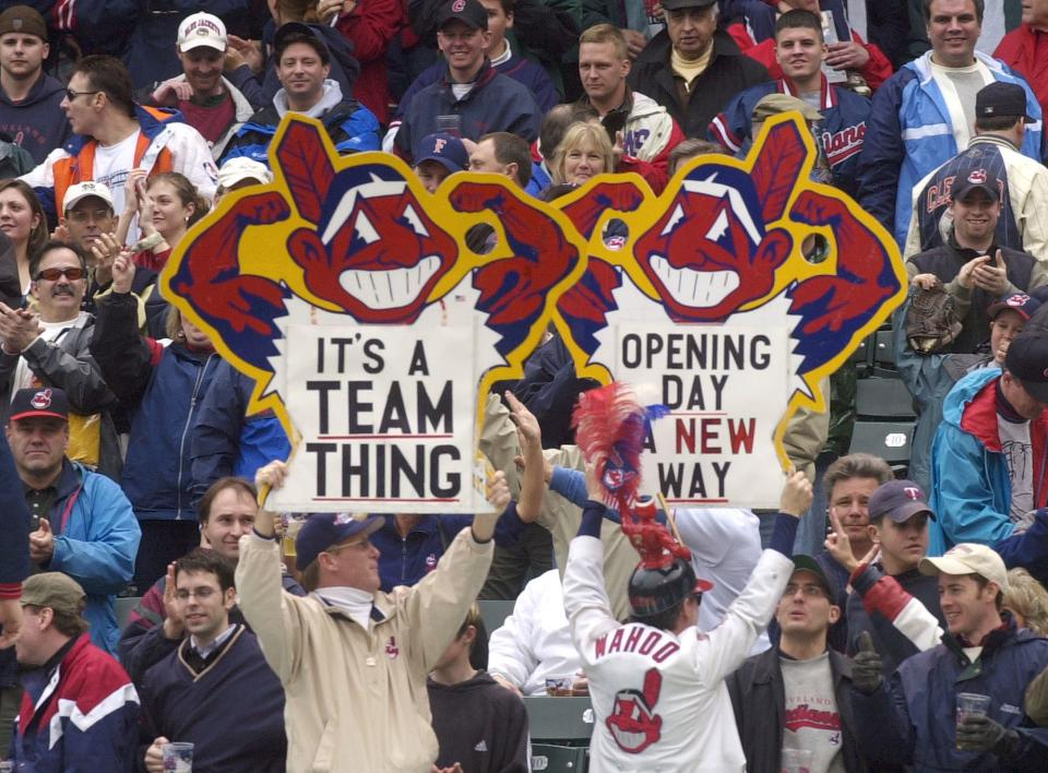 "Indians asking fans for opinion on ""Wahoo"" logo"