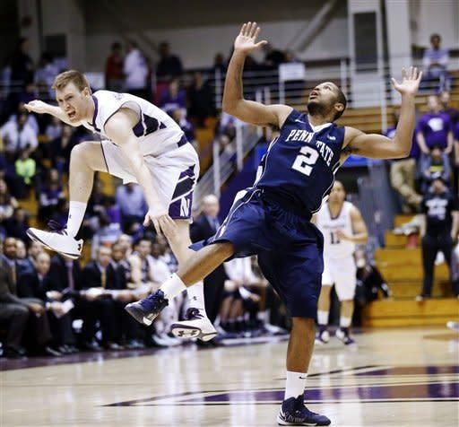 Penn State beats Northwestern 66-59