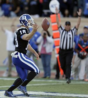 No. 25 Duke debuts national ranking at Wake Forest