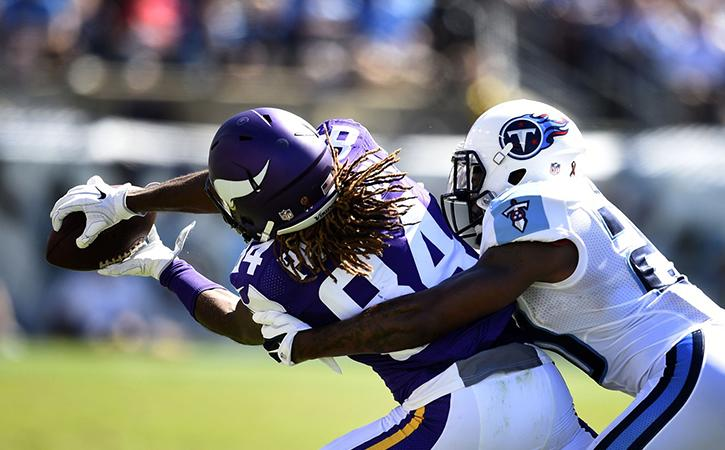 Time for Vikings to convert Patterson to Running Back