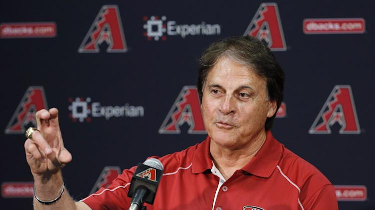 La Russa stresses effort in talk to Diamondbacks