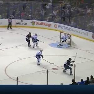Eddie Lack Save on T.J. Oshie (08:48/1st)