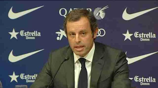 Barcelona president Sandro Rosell resigns over alleged corruption scandal