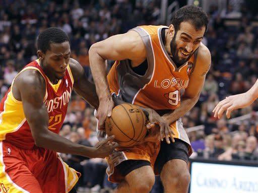 Dragic helps Suns beat Harden, Rockets 107-105