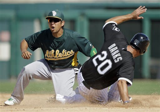 Sale hit hard in White Sox's 11-5 loss to A's