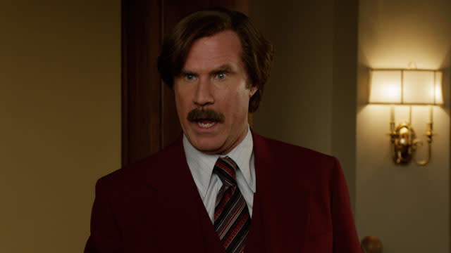 'Anchorman 2: The Legend Continues' Clip: I Forbid It