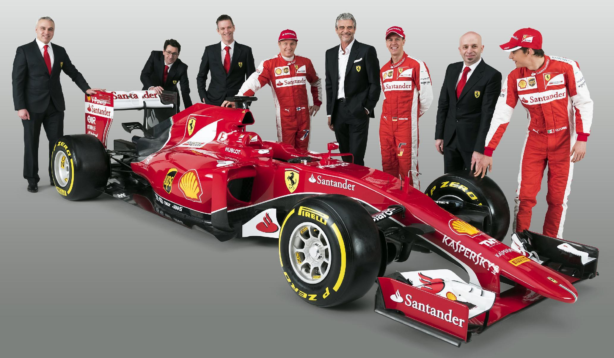 Ferrari unveil car to power team back to F1 glory