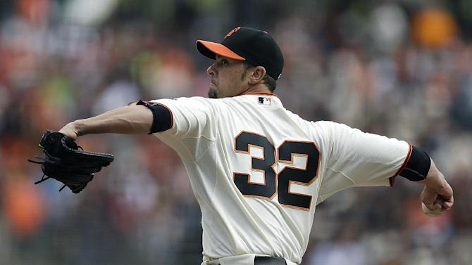 Hicks' homer gives Giants 4-1 win