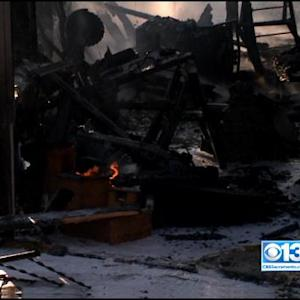 Vacaville Home Destroyed Following 4-Alarm Morning Fire