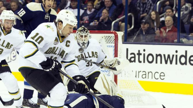 NHL: Dallas Stars at Columbus Blue Jackets