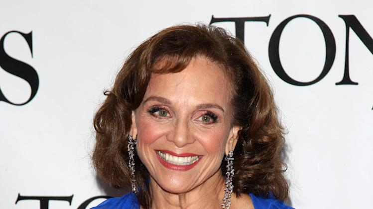 In this June 13, 2010 photo, Valerie Harper arrives at the 61st Annual Tony Awards in New York. The 73-year-old actress, who played Rhoda Morgenstern on television in the 1970s, has been diagnosed with terminal brain cancer, according to a report Wednesday, March 6, 2013 on People magazine's website. (AP Photo/Peter Kramer)