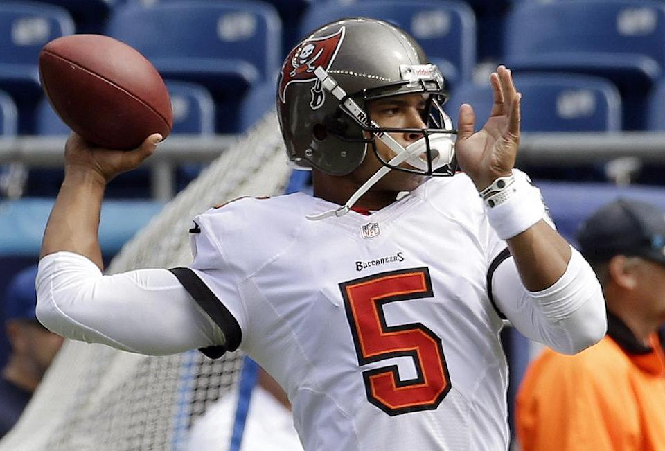 Bucs bench QB Freeman, turn to rookie Glennon