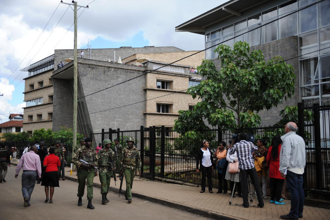 Kenya police investigate university drill in which 1 died