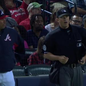 Smith ejected in the 7th