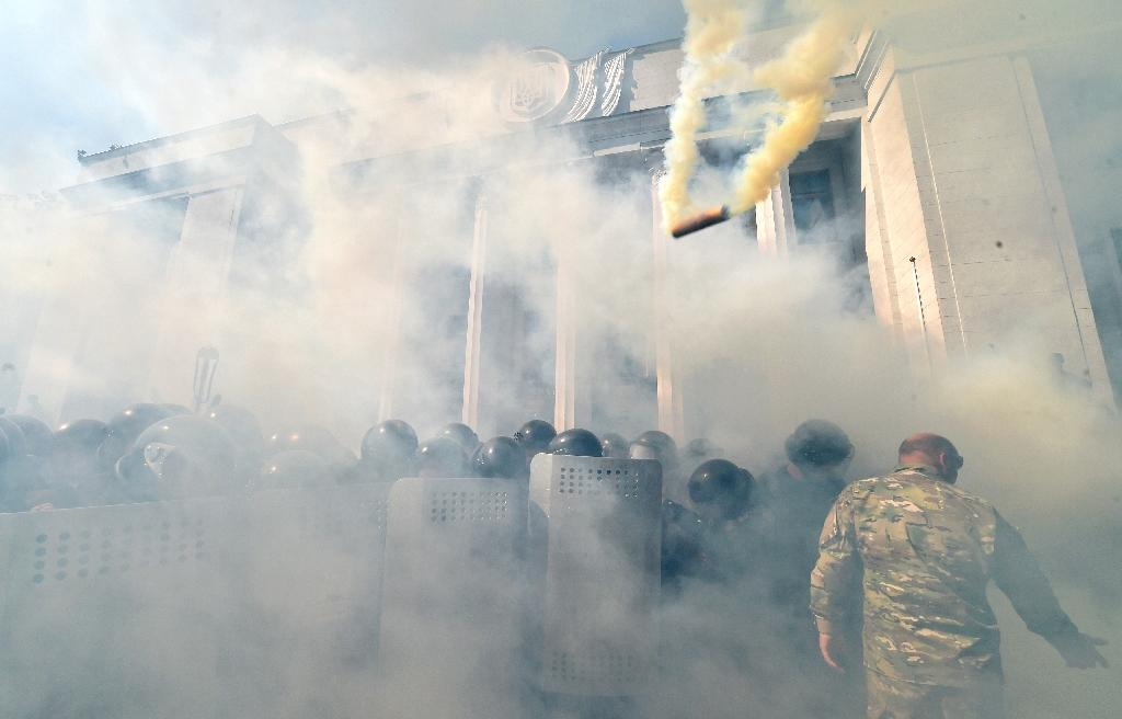 Ukraine points finger at ultra-nationalists after Kiev clash