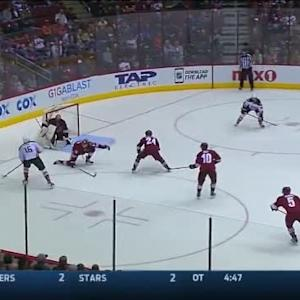 Mike Smith Save on Emerson Etem (08:11/3rd)