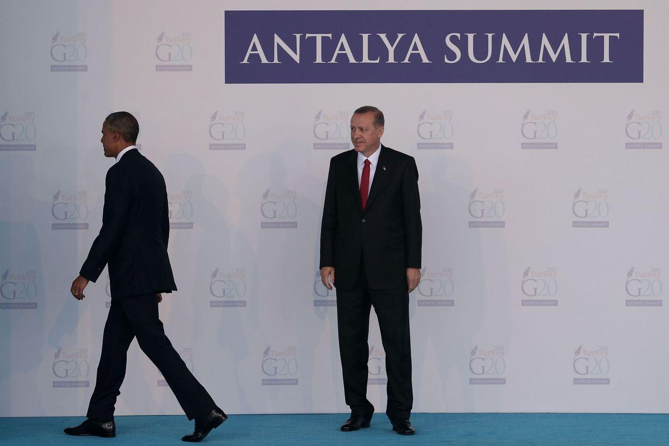 "Turkish president: America let the Middle East turn into ""a sea of blood"""