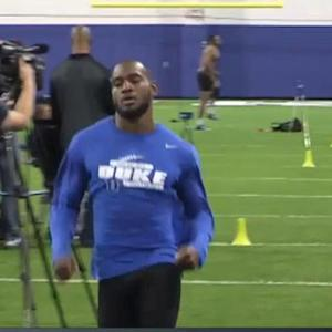 Pro Comparison: Duke University wide receiver Jamison Crowder
