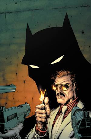 """This comic image from DC Comics shows a cover image from """"Batman, Incorporated No. 3."""" DC Comics is asking retailers to postpone sales of a Batman comic book out of respect for victims of the shooting at a theater showing """"The Dark Knight Rises"""" in Colorado. In an email sent to shops, DC Entertainment asked retailers to delay sales of """"Batman, Incorporated"""" No. 3, which was set to be available on Wednesday, July 25, 2012, for a month. (AP Photo/DC Comics)"""