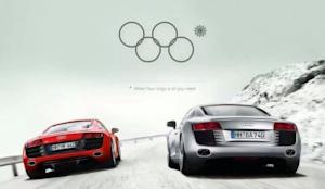 Audi Fan Creates Outstanding Ad Riffing On The Sochi Winter Olympics Snowflake Fail