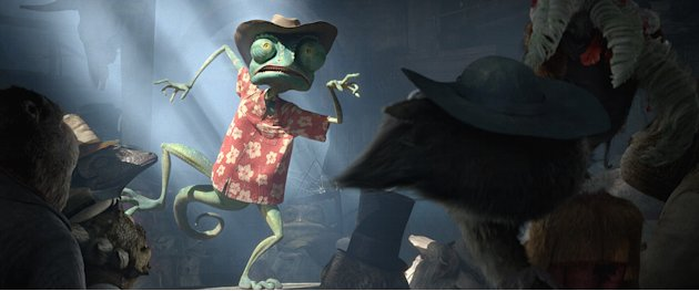 Rango Paramount Pictures 2011