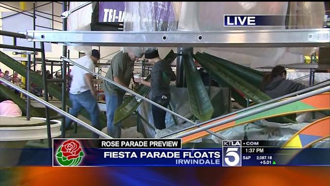 Rose Parade Preview #4 - Self Builders: Sierra Madre, La Canada Flintridge, & Downey