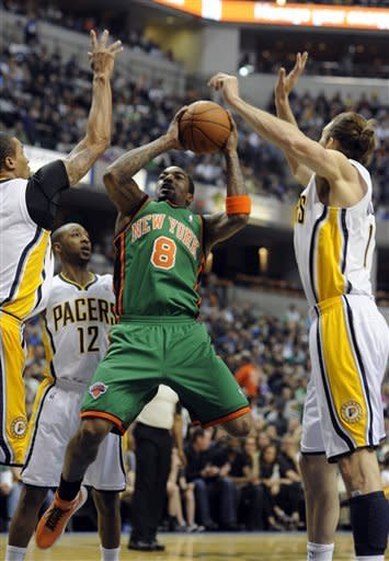 Lin leads Knicks past Pacers