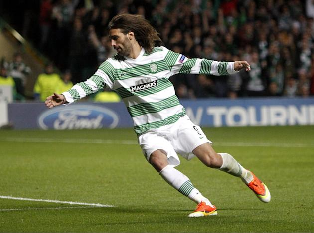 Soccer - UEFA Champions League - Play-Offs - Second Leg - Celtic v Shakhter Karagandy - Celtic Park