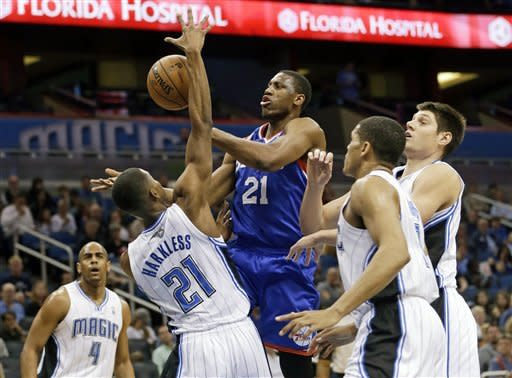 Nelson's 24 helps lift Magic over 76ers, 99-91