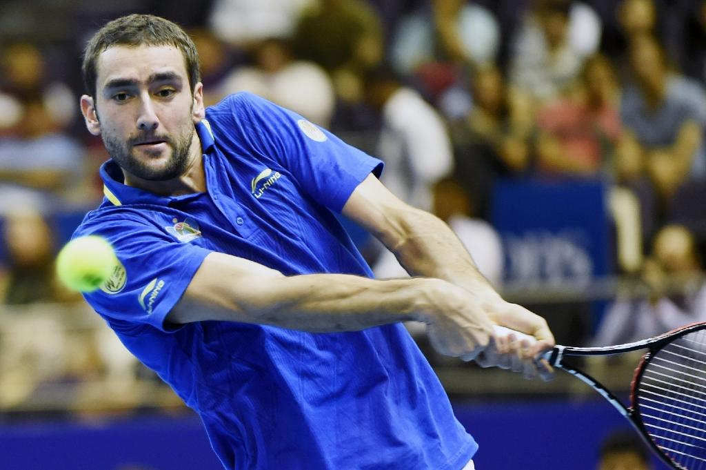 Cilic to miss Croatia vs Serbia Davis Cup match