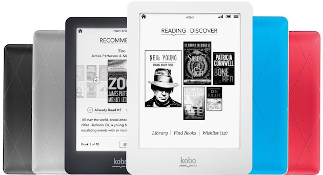It's possible to find frontlit, touchscreen e-readers for less than £100 (Image: Kobo)