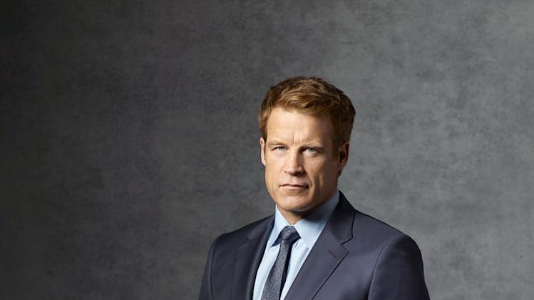 "Mark Valley stars as Oliver Richard in ""Harry's Law."""