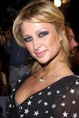 Paris Hilton at the Westwood premiere of Warner Brothers' Exit Wounds