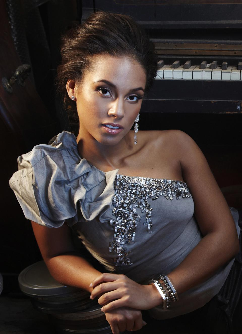 "In this undated image released by Boneau Bryan-Brown, Alicia Keys, producer of the upcoming Broadway production ""Stick Fly,"" is shown. ""Stick Fly"" is one of the new anticipated productions coming this season. (AP Photo/Boneau Bryan-Brown)"