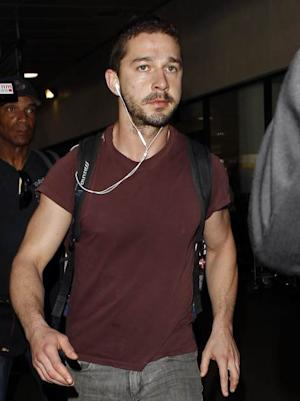 Shia LaBeouf is seen at LAX Airport on May 2, 2013 in Los Angeles -- Getty Images