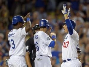 Cruz's go-ahead 3-run HR lifts Dodgers over Cards