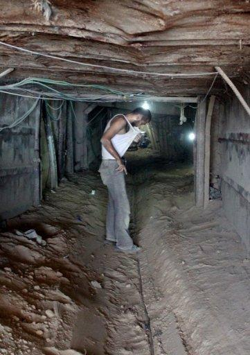 The Egyptian military claims to have destroyed 31 of the 225 main tunnels running under the border