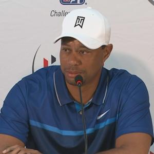 Tiger Woods gives an update on his recovery before Hero World Challenge