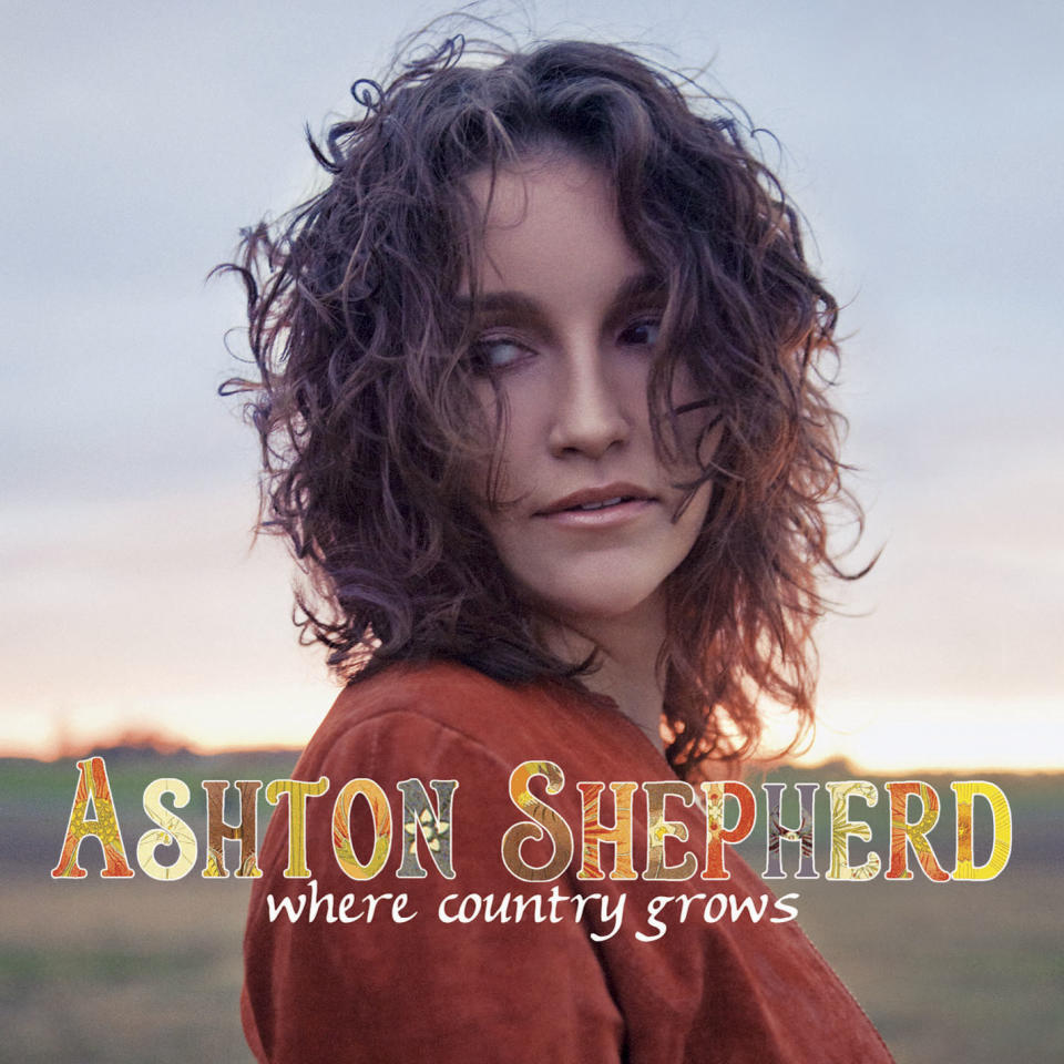 "In this CD cover image released by MCA Records, the latest release by Ashton Shepherd, ""Where Country Grows,"" is shown. (AP Photo/MCA)"