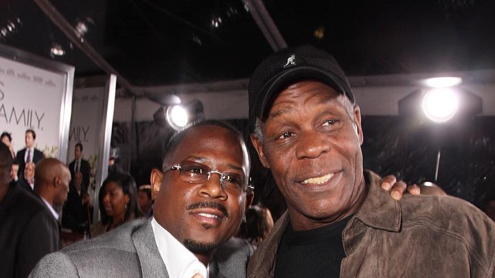 Death at a Funeral 2010 LA Premiere Martin Lawrence Danny Glover