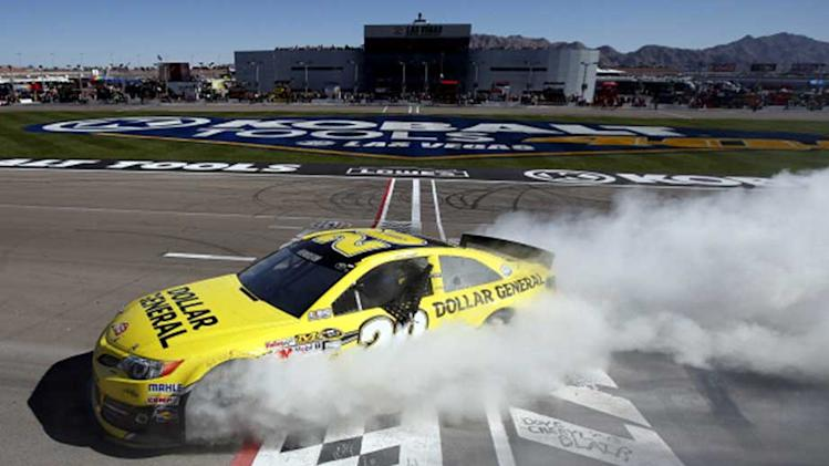 Reserved Kenseth lets loose after win