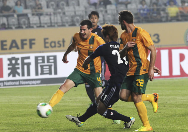 South Korea Japan Australia Soccer East Asian Cup