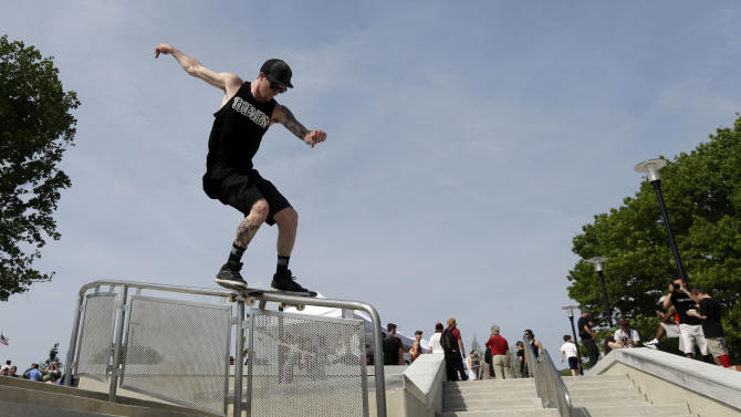 Skateboarders might find new love at Philly park