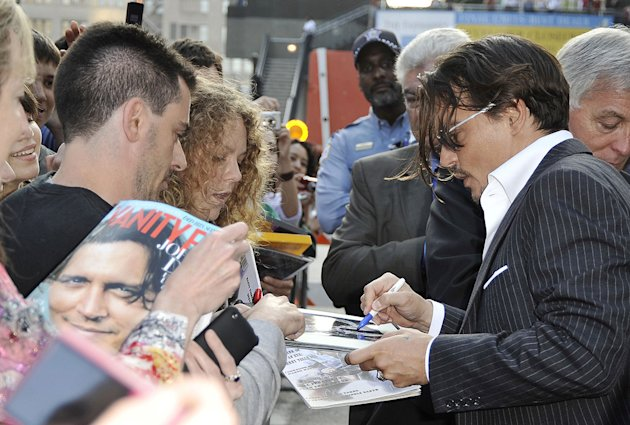 Public Enemies Chicago premiere 2009 Johnny Depp