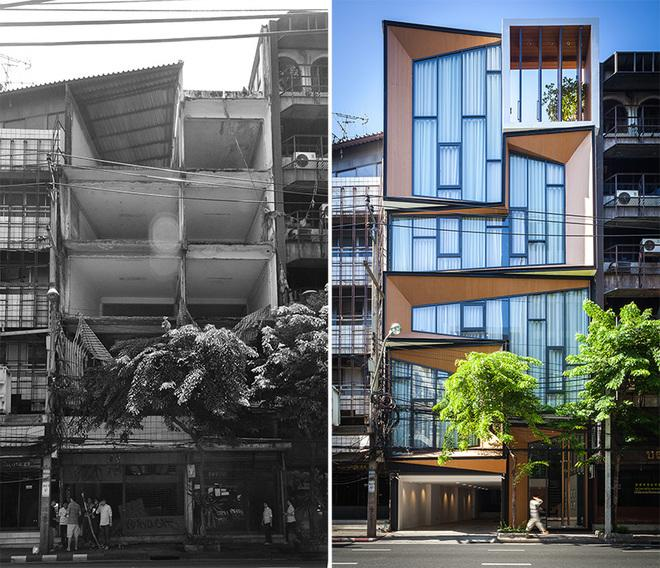 Globe Trotting: Ailing Office Building Becomes Modern Residence in Bangkok