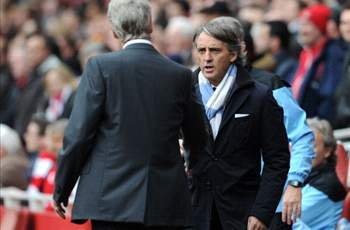 Who is more likely to leave: Arsene Wenger or Roberto Mancini?