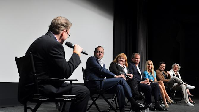 """The Hollywood Reporter Screening Of PBS Masterpiece's """"Downton Abbey"""" Season 3"""