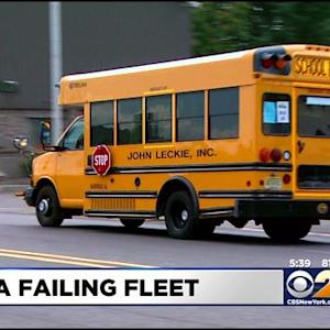 MVC: N.J. School Bus Company's Fleet Fails Safety Inspection